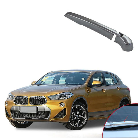 NINTE ABS Chrome Car Accessory Rear Window Wiper Blade Cover Trim For BMW X2 2018 - NINTE
