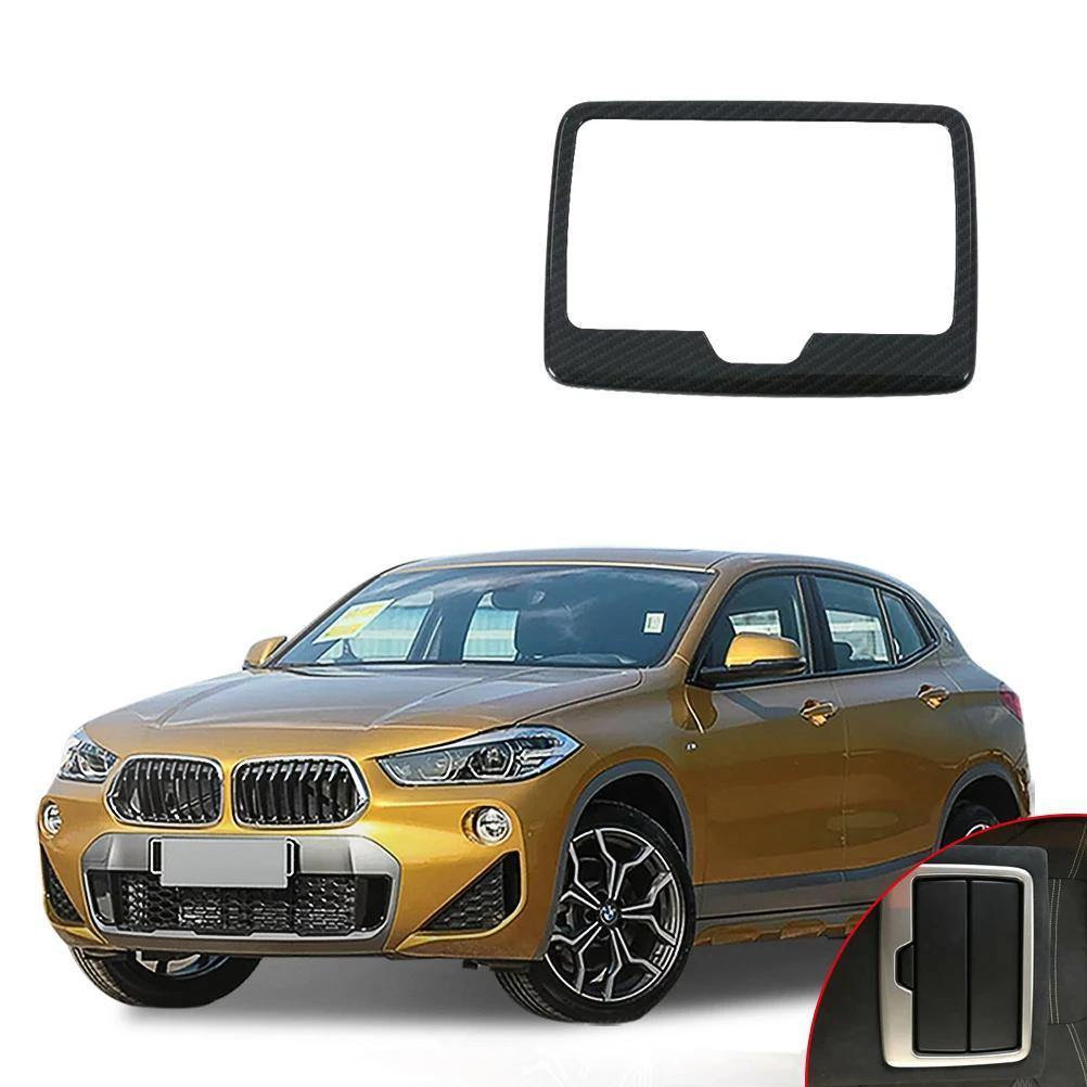 NINTE BMW X2 2018 1 PC ABS Rear Water Cup Cover Trim Moldings - NINTE