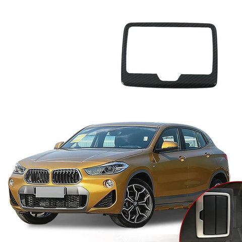 NINTE 1PCS ABS Car Accessories Rear Water Cup Cover Trim Moldings Car Styling For BMW X2 2018 - NINTE
