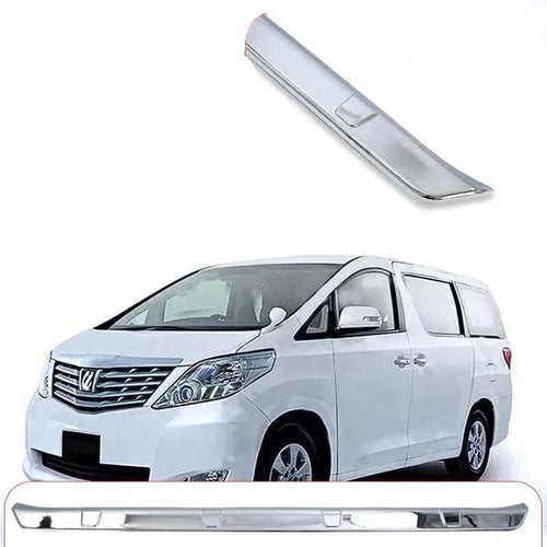 NINTE Electroplating ABS Car Rear Bumper Cover Trim For Toyota Alphard 2015-2019 - NINTE