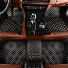 Laden Sie das Bild in den Galerie-Viewer, NINTE Dodge RAM 1500 2013-2018 Custom 3D Covered Leather Carpet Floor Mats - NINTE