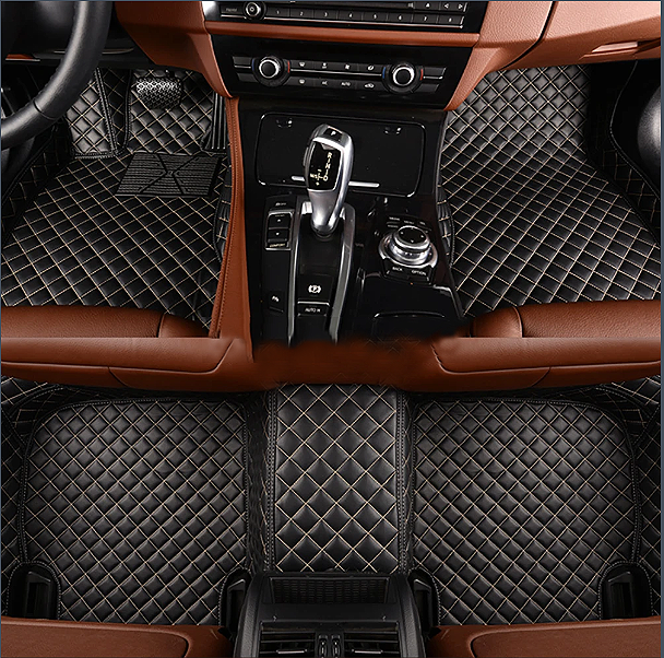 NINTE Tesla Model S 2016-2019 Custom 3D Covered Leather Carpet Floor Mats - NINTE