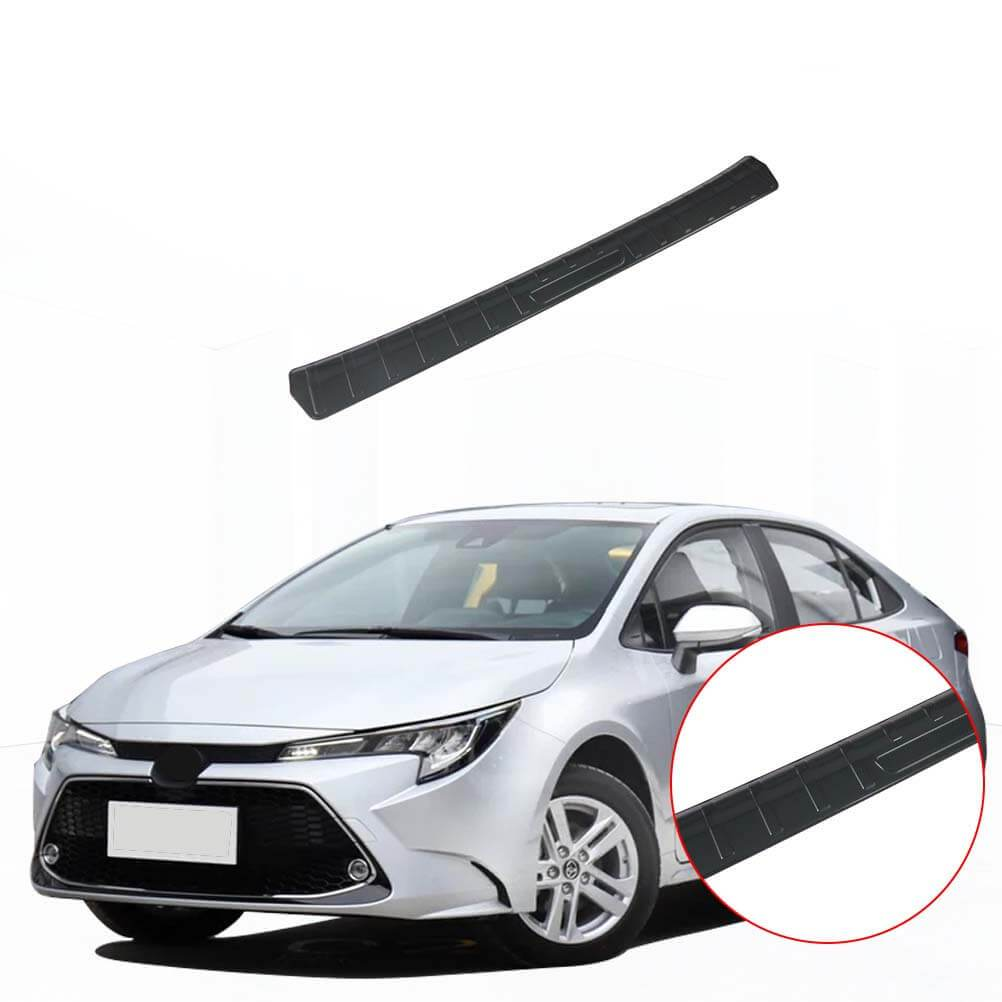 Rear Bumper Protector Outer Guard Sill Plate Cover