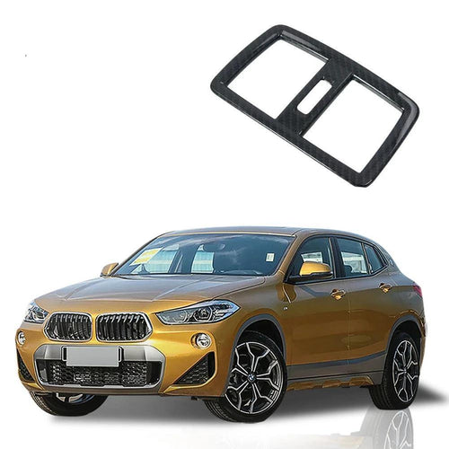 NINTE NEW Car Accessories Rear Air Conditioning Outlet Cover Frame Trim Decoration For BMW X2 2018 Car Accessories - NINTE