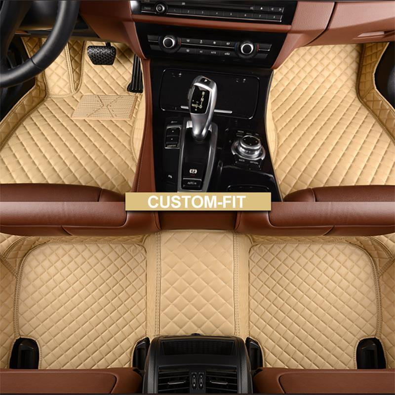 NINTE Toyota Camry 2018-2019 Custom 3D Covered Leather Carpet Floor Mats - NINTE