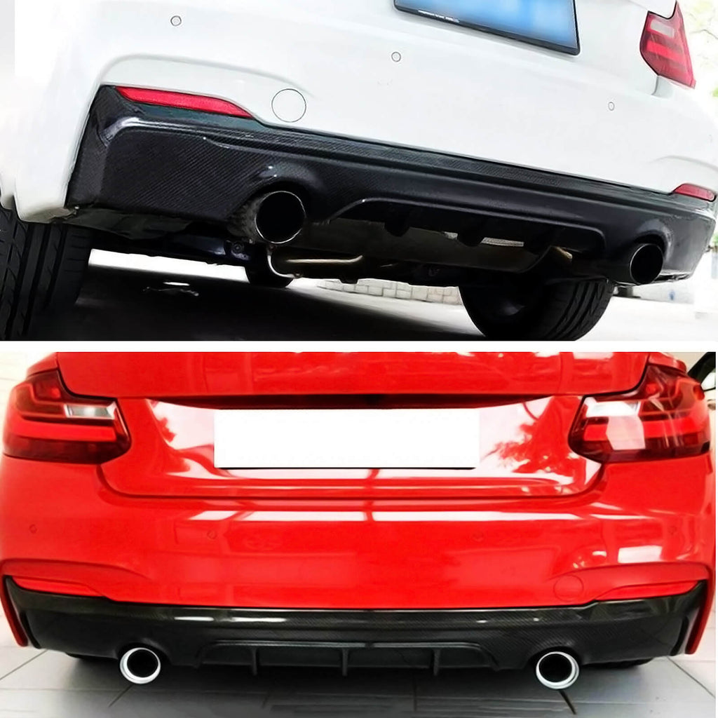 NINTE Rear Diffuser For BMW 2014-2021 F22 2 Series M Performance