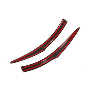 Rear view Mirror Side Molding Guard Trim Fit for Benz New A-Class A220 W177 2019 NINTE - NINTE