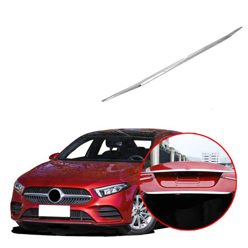 NINTE Chrome Rear Trunk trim strip Fit for Mercedes-Benz New A-Class A220 W177 2019 - NINTE