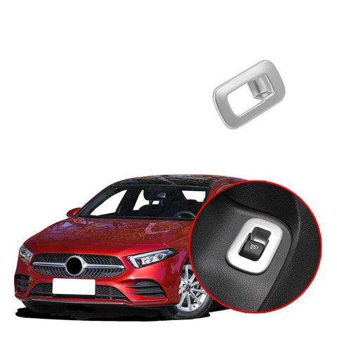 NINTE Tail trunk switch button Cover Trim Fit for Mercedes-Benz New A-Class A220 W177 2019 - NINTE