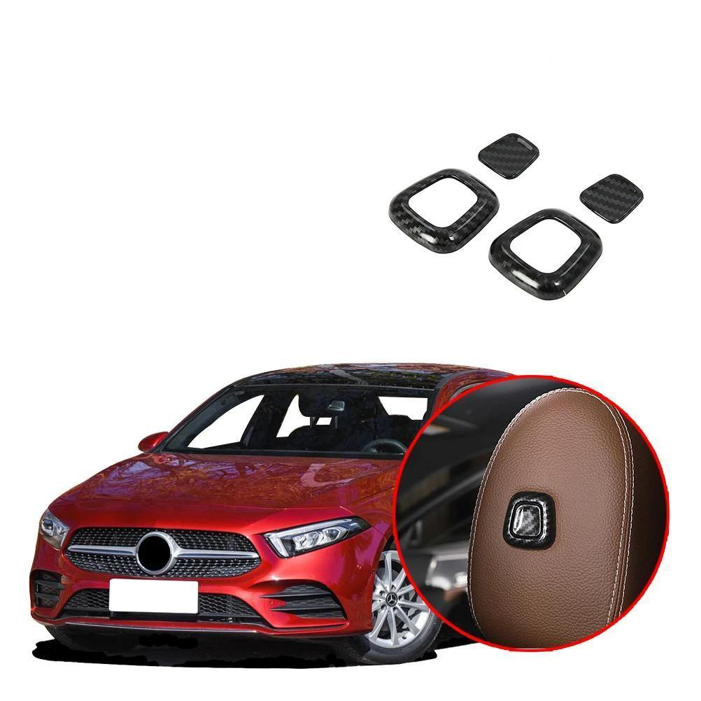 NINTE Seat Headrest Adjust Button Cover Trim Fit for Mercedes-Benz New  A-Class A220 W177 2019