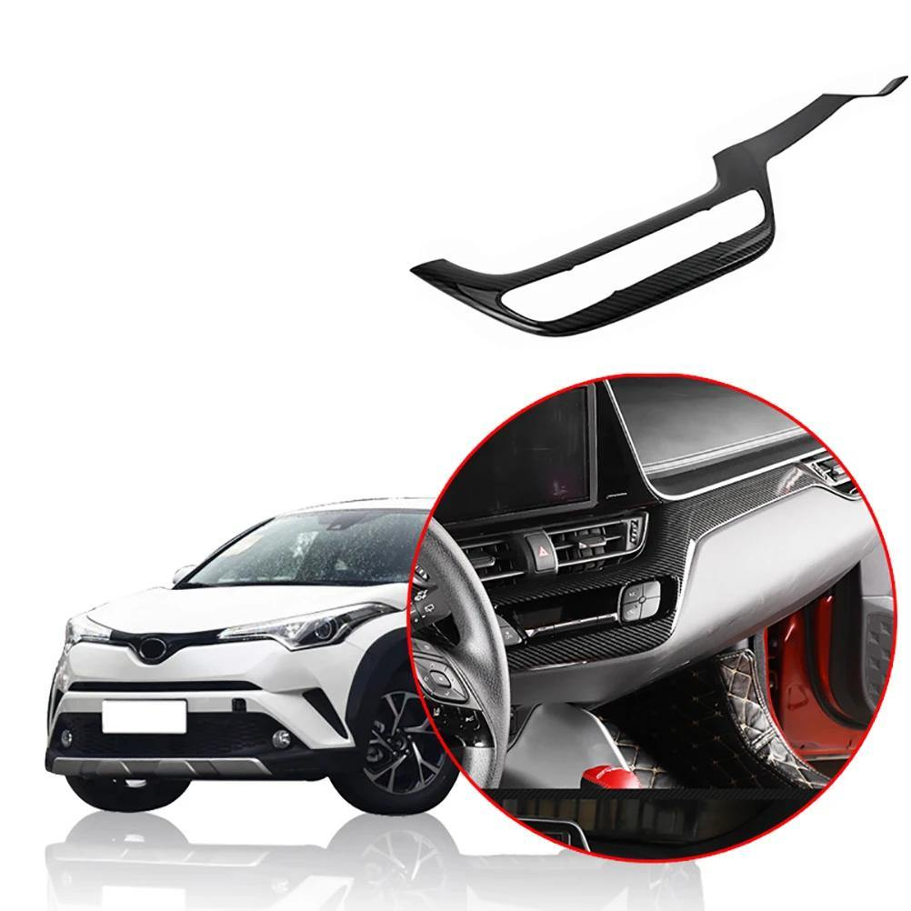 Accessories For Chevrolet Camaro 2016 2017 Central Control Lid Frame Cover Trim
