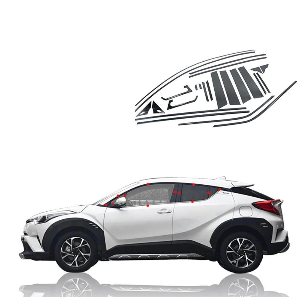 NINTE Car Windows Protection Cover Kit For C-HR 2016-2019 - NINTE