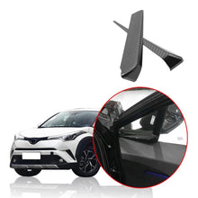 Load image into Gallery viewer, Toyota C-HR 2016-2019 Carbon Fiber Interior Front A Pillar Decoration Trim Windows Stickers - NINTE