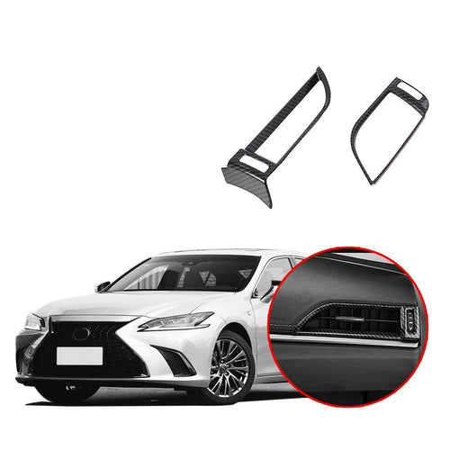 NINTE Front Side Air Conditioning Outlet Cover Fit for Lexus ES 2016-2019 - NINTE