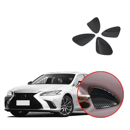 Car Interior Side Door Handle Bowl Cover Sticker Trim For Lexus ES NINTE - NINTE