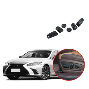NINTE ABS Accessories Seat Adjustment Switch Button Cover Trim For Lexus ES 2016-2019 - NINTE