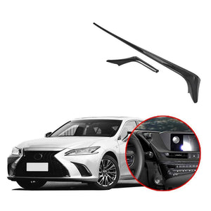 NINTE Car Interior Central Control Panel Decoration Cover For Lexus ES 2016-2019 - NINTE