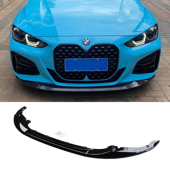 NINTE Front Bumper Lip for 2021 New BMW 4 Series G22 425i 430i Coupe M Performance