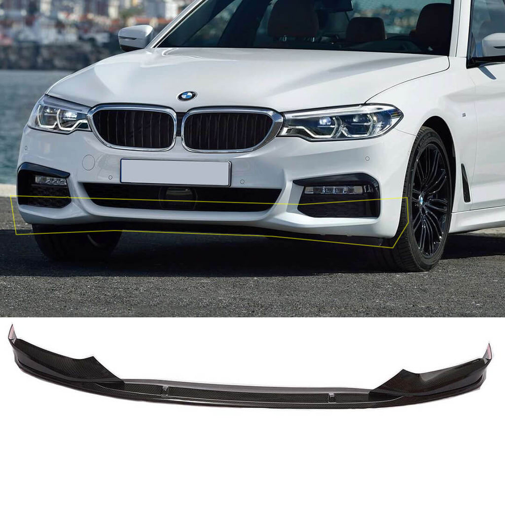 NINTE Front Lip For BMW 5 Series G30 2017-2019