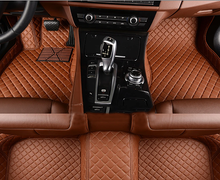 Load image into Gallery viewer, NINTE Dodge RAM 1500 2013-2018 Custom 3D Covered Leather Carpet Floor Mats - NINTE