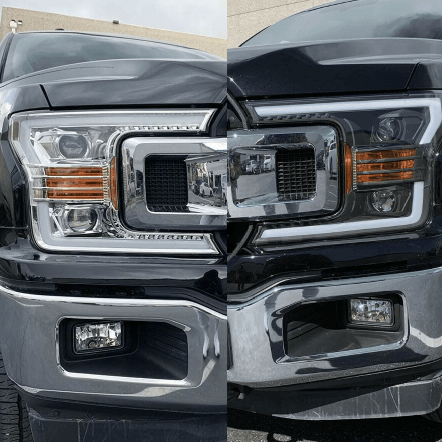 NINTE Headlight for 2018-2020 Ford F-150 XL XLT