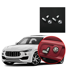 Seat Button Adjustment Cover Trim Fit for Maserati Levante 2016-2019 NINTE - NINTE