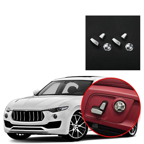 NINTE Seat Button Adjustment Cover Trim Fit for Maserati Levante 2016-2019 - NINTE