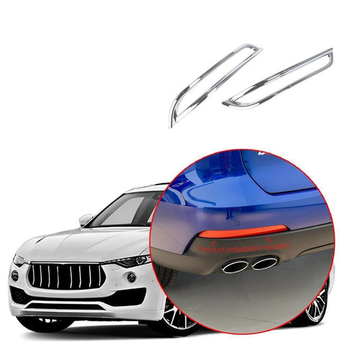 Car Rear Tail Fog light Lamp Shade Frame Trim cover for Maserati Levante 2016-2019 NINTE - NINTE