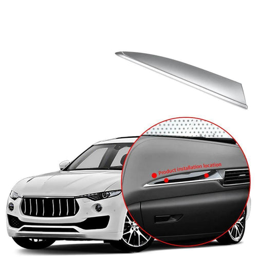 NINTE Car Interior Central Control Right Side Panel Decoration Cover For Maserati Levante 2016-2019 - NINTE