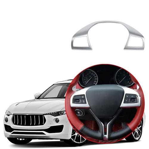 Car Interior Steering Wheel Cover Trim Decoration for Maserati Levante 2016-2019 NINTE - NINTE
