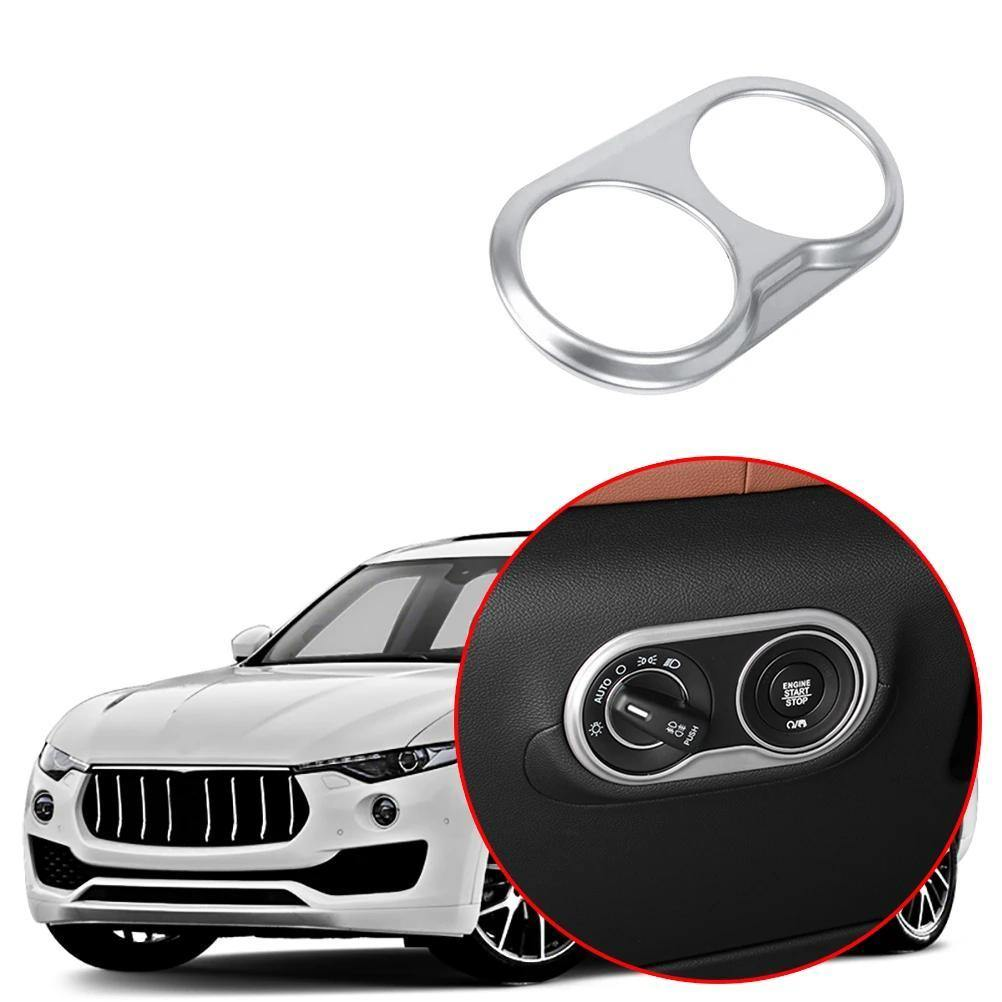 ABS Matte Chrome Rear Trunk Handle Frame Trim For Maserati Levante 2016 Car-Styling