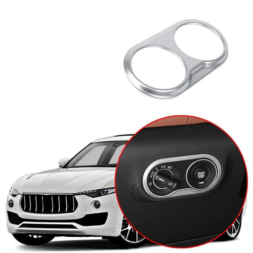 NINTE Car HeadLight Adjustment Cover Decoration Trim For Maserati Levante 2016-2019 - NINTE