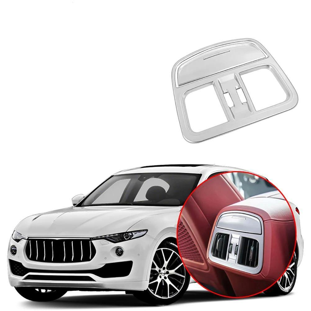 Car Rear Air Conditioning Outlet Vent Frame Cover Trim Decoration for Maserati Levante 2016-2019 NINTE - NINTE