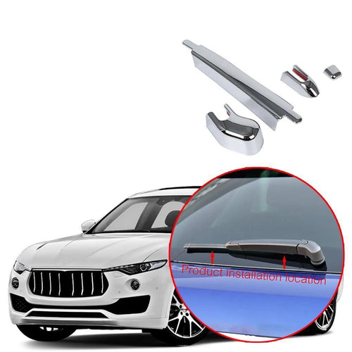 Car Rear Windshield Windscreen Wiper Cover Trim fit for Maserati Levante 2017-2019 NINTE - NINTE