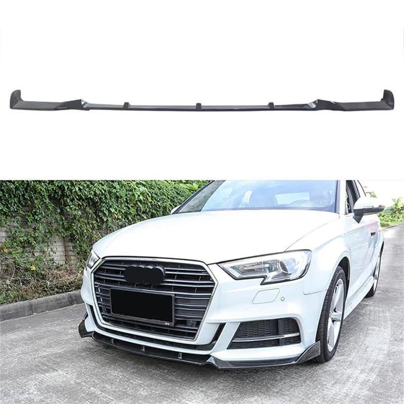 Ninte Front Lip For 2017 2018 Audi A3 Sline S3 Sedan 4