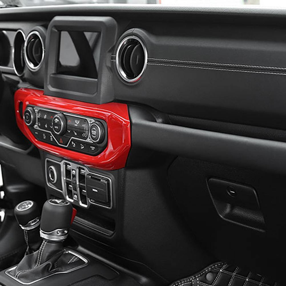 Ninte Jeep Wrangler JL 2018-2019 Interior Air Conditioning Adjustment Panel Cover - NINTE