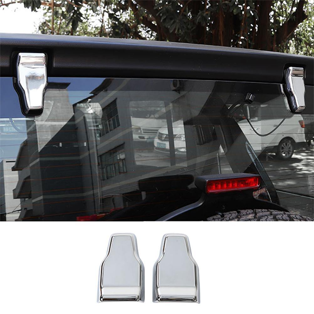 Ninte Jeep Wrangler JL 2018-2019 Exterior Tailgate Glass Hinge Cover Decoration Cover - NINTE