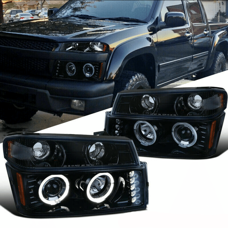 NINTE Headlight For 2004-2012 Chevy Colorado GMC Canyon