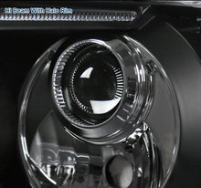 Load image into Gallery viewer, Fit Toyota 07-13 Tundra 08-17 Sequoia Black LED Halo Projector Headlights Pair - NINTE
