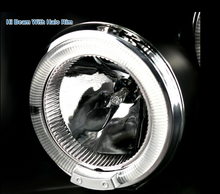 Load image into Gallery viewer, For 05-08 Nissan Frontier 05-07 Pathfinder Black LED Halo Projector Headlights - NINTE