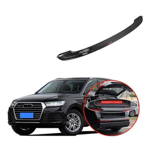 NINTE Outer Rear Bumper Guard Sill Protector Plate For Audi Q7 2016-2019 - NINTE
