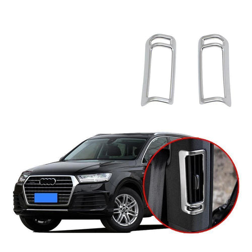 NINTE Interior Rear Vent Air Outlet Fender Cover Trim For Audi Q7 2016-2019 - NINTE