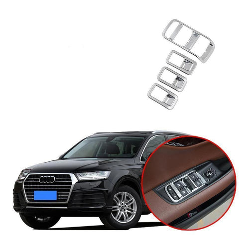 Window Lift Switch Cover For Audi Q7 2016-2019 NINTE - NINTE