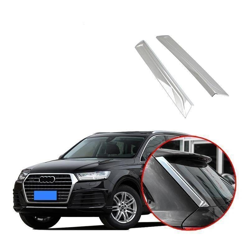 Chrome Rear Window Lid Decorative Trim For Audi Q7 2016-2019 NINTE - NINTE
