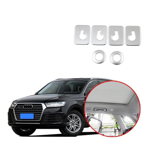 NINTE Car Rear Roof Dome Hook Cover Trim For Audi Q7 2016-2019 - NINTE