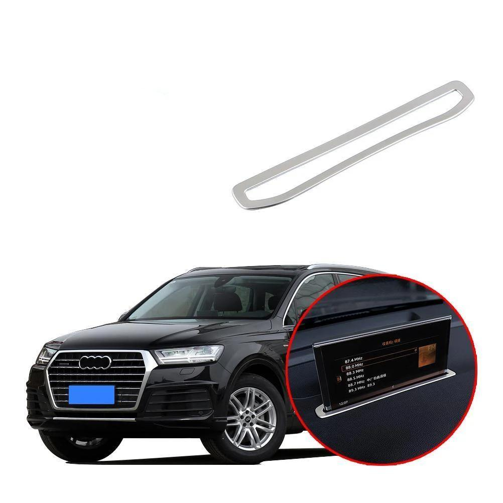 Ninte Audi Q7 2016-2019 Interior Dashboard GPS Navigation Decoration Cover - NINTE
