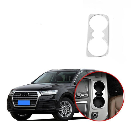 Water CupHolder Frame Cover Trim For Audi Q7 2016-2019 NINTE - NINTE