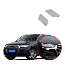 Load image into Gallery viewer, Ninte Audi Q7 2016-2019 2PCS Front Headlight Sprinkler Water Spray Cover - NINTE