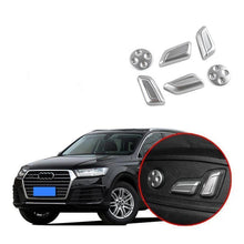 Load image into Gallery viewer, NINTE Audi Q7 2016-2109 6 PCS Interior Car Seat Adjustment Button Cover - NINTE