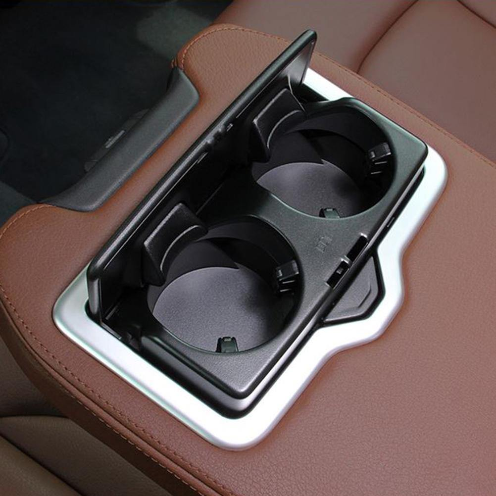 NINTE Audi Q7 2016-2019 Water Cup Holder Frame Cover - NINTE